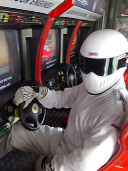 The Stig Trials Racing Challenge at Beveley Racecourse in Yorkshire