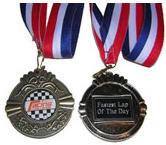 Racing Challenge Winners Medal
