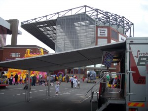 Event entertainment ideas in the east Midlands such as Aston Villa Football Club