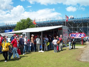 Event entertainment ideas Basingstoke at Silverstone Grand Prix.