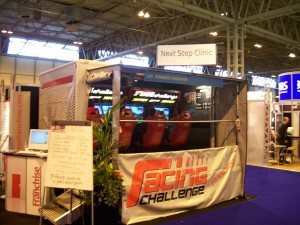 Exhibition stand entertainment at NEC Birmingham