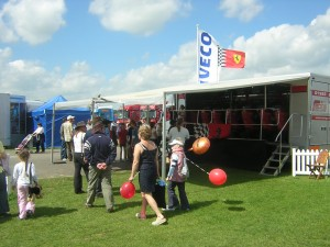 Racing Challenge Super 8 with IVECO trucks at Truckfest