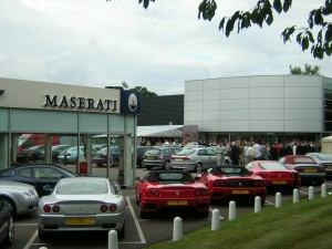 Lancaster Ferrari, Colchester,car dealer open days event with Super 8